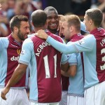Villa 3-2 Malaga. Pictures by Neville Williams/Aston Villa/Getty Images.
