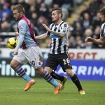 Images from Villa's frustrating 1-0 defeat to Newcastle. Pictures by Neville Williams/Aston Villa/Getty Images.