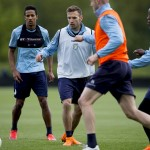 Training: Pre-West Ham / Pictures by Neville Williams/Aston Villa/Getty Images.