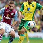 Norwich 0-1 Villa. Pictures by Neville Williams/Aston Villa/Getty Images.