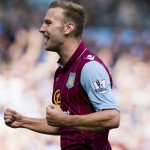 AVFCOfficial: #AVFC 2-0 #HCFC - MATCH PIC: No better feeling than scoring a goal. #AVFCLIVE http://t.co/SU382CCiZ4